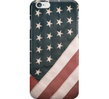 Retro USA Flag iPhone Case/Skin