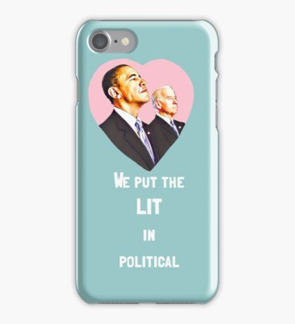 Obama + Biden  iPhone Case/Skin