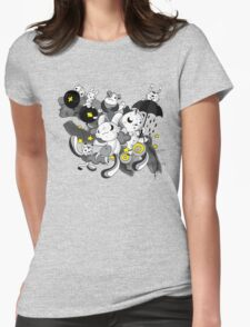 We're  singing in the rain Womens Fitted T-Shirt