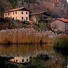 Capo di Lago village by annalisa bianchetti