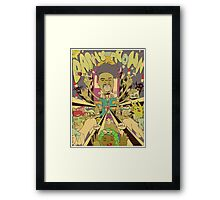DANNY BROWN Framed Print