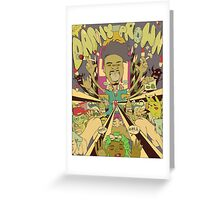 DANNY BROWN Greeting Card