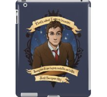 10th Doctor - Doctor Who iPad Case/Skin