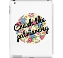 Crush the Patriarchy iPad Case/Skin