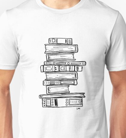 Stack of Books Unisex T-Shirt