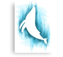 Everything whale be alright Canvas Print