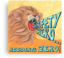 Safety Hero Canvas Print