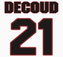 NFL Player Thomas DeCoud twentyone 21 T-Shirt