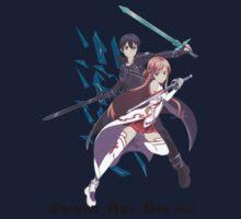 Asuna - kirito duo by FreestylerNL