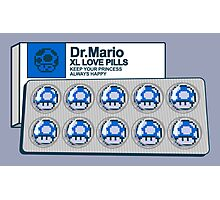 Dr mario xl love pills Photographic Print