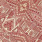 Tribal (red))  by Terry  Fan