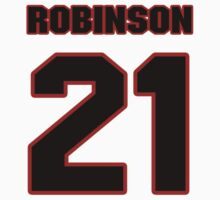 NFL Player Josh Robinson twentyone 21 by imsport