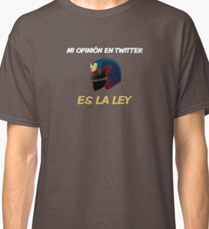 Mi opinión en twitter es la ley Classic T-Shirt