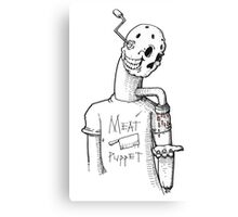 Meat Puppet Canvas Print