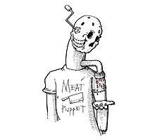 Meat Puppet Photographic Print