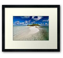 The Sandbar - Cocos (Keeling) Islands Framed Print