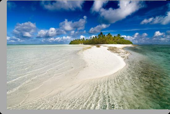 The Sandbar - Cocos (Keeling) Islands by Karen Willshaw