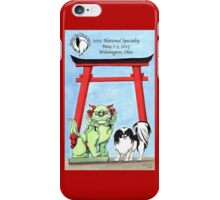 Japanese Chin Club of America 2015 National Specialty iPhone Case/Skin