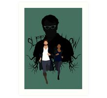 Sleepy Hollow - You better run Art Print
