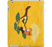 Father and Son (paper) iPad Case/Skin