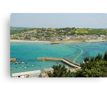 Marazion From St Michael's Mount Canvas Print