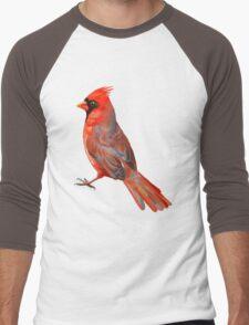 Cardinal Men's Baseball ¾ T-Shirt
