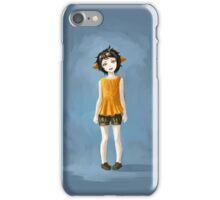 Girl in Shorts iPhone Case/Skin