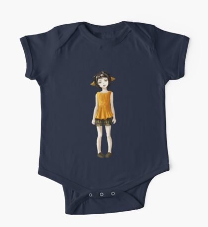 Girl in Shorts One Piece - Short Sleeve