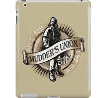 Mudder's Union, Local 13 iPad Case/Skin
