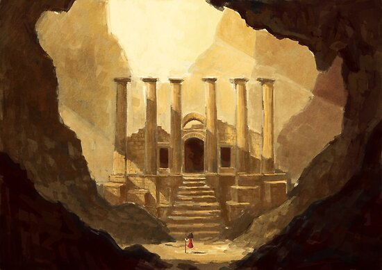 Ancient Ruins by freeminds