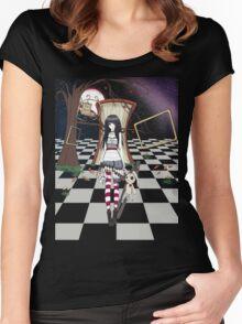 Dark Wonderland - for Dark Shirts Women's Fitted Scoop T-Shirt