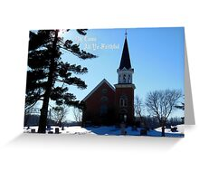 O Come Christmas Card Greeting Card