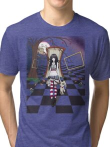 Dark Wonderland Tri-blend T-Shirt