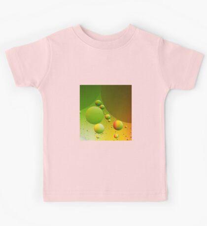 Abstract green Kids Tee