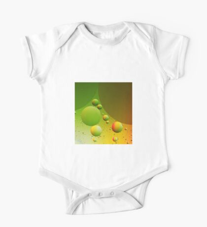 Abstract green One Piece - Short Sleeve