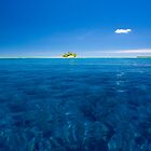 """A Little White Cloud"" - Indian Ocean, Cocos (Keeling) Islands by Karen Willshaw"