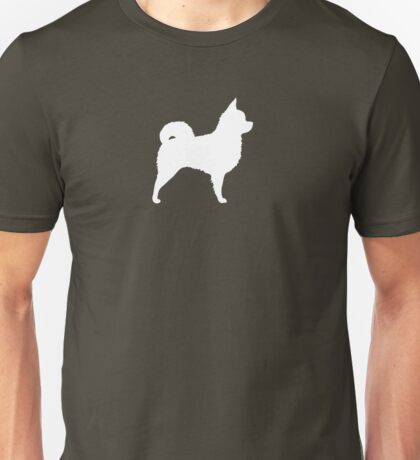Long Haired Chihuahua Silhouette(s) Unisex T-Shirt