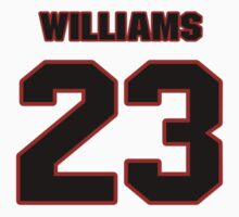 NFL Player Aaron Williams twentythree 23 by imsport