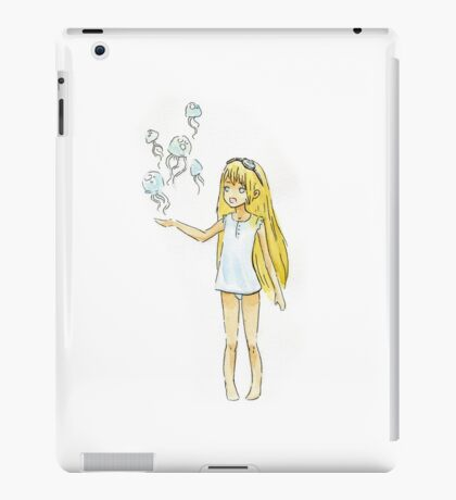 Jellyfish Girl iPad Case/Skin