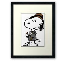 Snoopy YO Framed Print