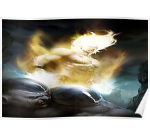 Goku and Frieza Poster