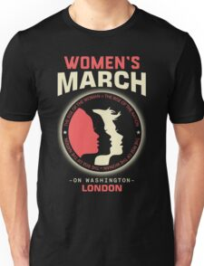 Women's March LONDON Unisex T-Shirt