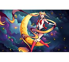 Pretty Soldier Sailor Moon Photographic Print