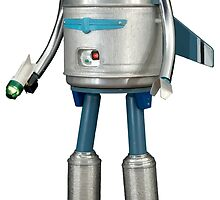 Mojo the Robot by davidyarb