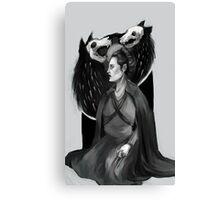 Sansa Stark: Porcelain, Ivory, Steel Canvas Print