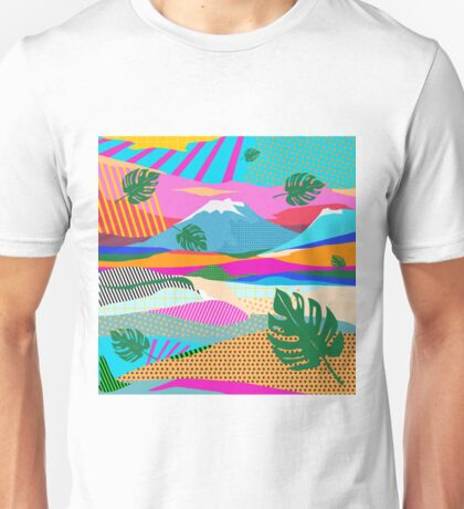 beautiful colors scenery Unisex T-Shirt