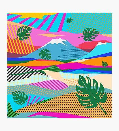 beautiful colors scenery Photographic Print