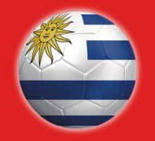 Uruguay - Uruguayan Flag - Football or Soccer 2 One Piece - Short Sleeve
