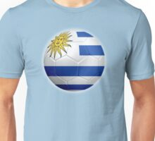 Uruguay - Uruguayan Flag - Football or Soccer 2 Unisex T-Shirt