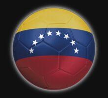 Venezuela - Venezuelan Flag - Football or Soccer 2 by graphix